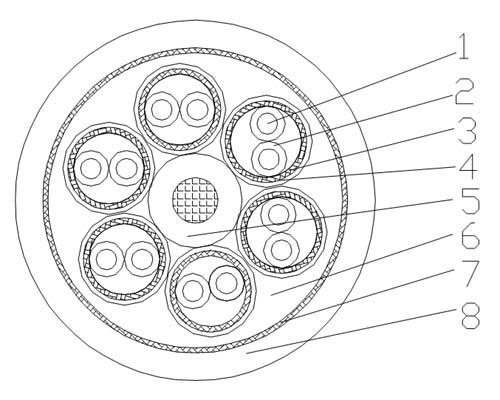 Festoon System Communications Bus Coding Cable Diagram